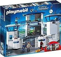 PLAYMOBIL 6872 - Polizei-Kommandozentrale mit Gefängnis