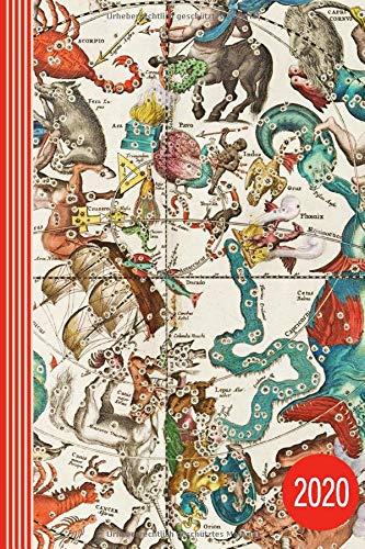 2020: Mythologie Kunst Planer 2020 - Fabelwesen Antike, Terminplaner Wochenplaner Monatsplaner Organizer Kalender A5 - Jahresübersicht Monatsübersicht ... To Do Liste + 45 Dot Grid Notizen