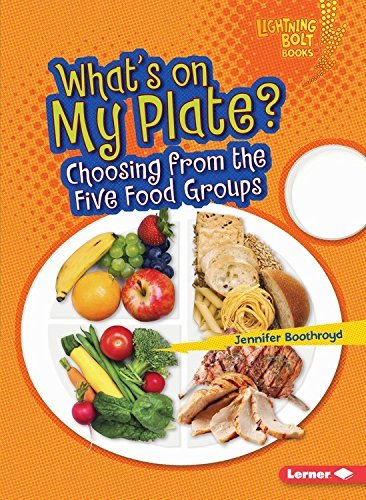 What's on My Plate?: Choosing from the Five Food Groups (Lightning Bolt Books Healthy Eating) by Jennifer Boothroyd (2016-02-01)