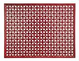 Extreme® Outdoor Externe Gummi Fußmatte–48x 62cm, erdbeere–lässt Wasser abfließen