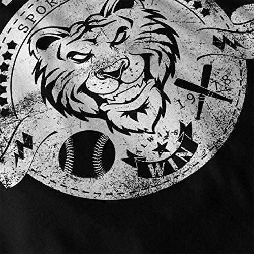 Weiß Tiger Sport Tragen Mannschaft Damen Schwarz S-2XL Muskelshirt | Wellcoda Schwarz