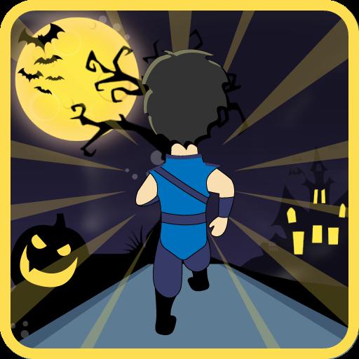 Evil Skull Run (Surfers Subway Halloween Spiele)