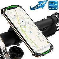 VUP Handyhalterung Fahrrad,Face ID/Touch ID kompatibel,360°drehbar Fahrrad Handyhalterung,universal Motorrad...