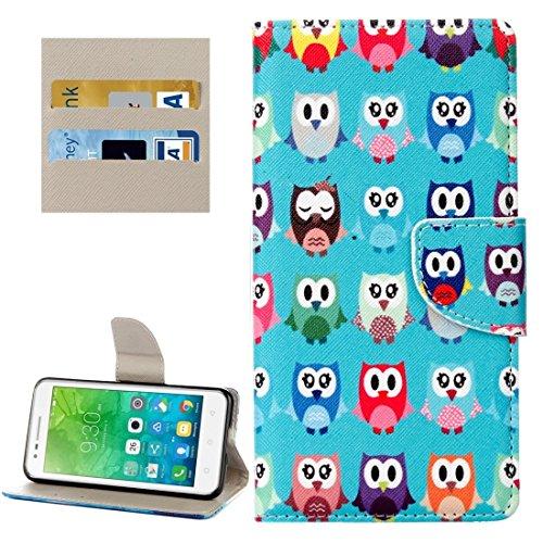 Proteja su teléfono, Für Lenovo Vibe C2 / C2 Power Kleine Bär Muster Horizontale Flip Leder Tasche mit Halter & Card Slots & Wallet ( SKU : Mlc8503d ) (Power Bären Htc One)