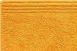 Grund Memory Asciugamani in Spugna Arancione, Cotone, Orange, 70 x 140 cm