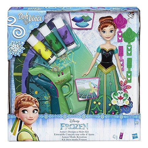 Hasbro Disney Die Eiskönigin Anna Mode-Kreation mit DohVinci