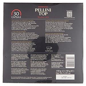 Pellini Top Coffee Nespresso Compatible Capsules (Pack of 3, Total 30)