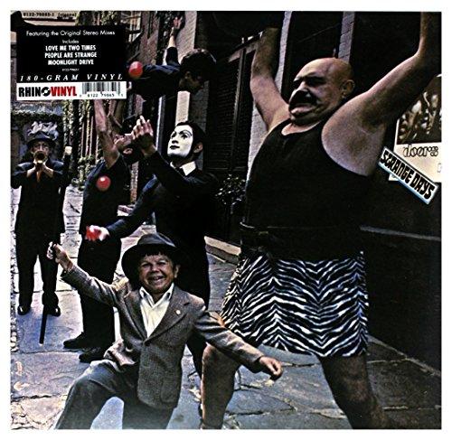 STRANGE DAYS LP (VINYL ALBUM) EUROPEAN ELEKTRA