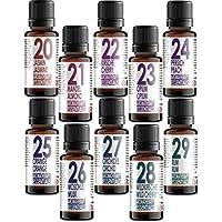 Set von 10 (zehn) Duftöle in Geschenkbox. Aromatherapy Essentials 20-29. Jasmin, Mandel, Kirsche, Opium, Pfrisich... preisvergleich bei billige-tabletten.eu