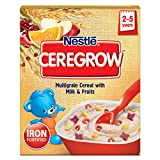 """CEREGROW"" is a nutritious and tasty junior cereal for children between 2 to 5 years. It is packed with the nourishment of multiple food group • Multigrain cereals • Goodness of milk • Assortment of fruits CEREGROW is fortified with 15 Vitamins and m..."