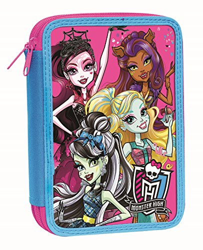 Pencil case double decker MONSTER HIGH
