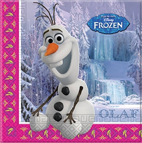 Frozen 20 Servietten Olaf (Frozen Olaf Party Supplies)