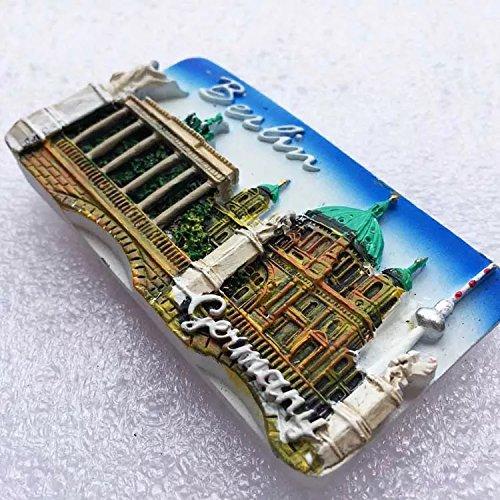 Berlin Deutschland Europa Kunstharz 3D starker Kühlschrank Magnet Souvenir Tourist Geschenk Chinesische Magnet Hand Made Craft Creative Home und Küche
