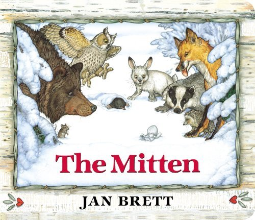 The Mitten: Oversized Board Book by Jan Brett (2014-10-30)