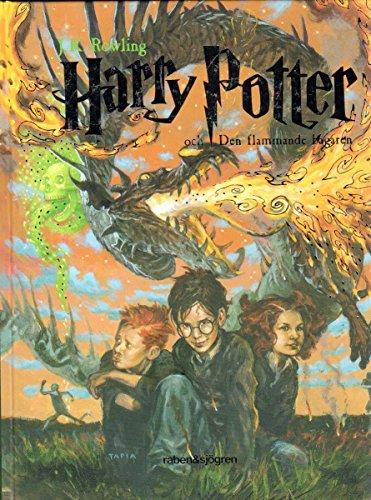 Harry Potter och den flammande bägaren (schwedisch, swedish, svenska) (Livre en allemand)
