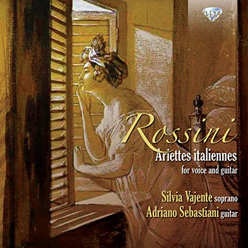 Rossini: Ariettes italiannes for voice and guitar