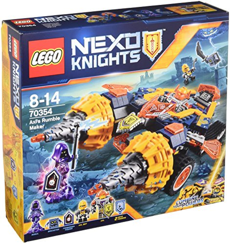 Nexo Knights - Doble perforadora de Axl (LEGO 70354)