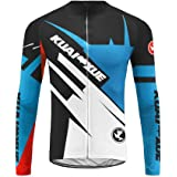 Uglyfrog UKHZD37 Bicycle Mens Cycling Set Long Sleeve Cycling Jersey+Long bib Pant with Gel Pad Winter Fleece Thermo with Fleece Triathlon Clothes