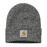 Carhartt WIP Unisex Damen Herren Beanie 91/9% Acrylic/Nylon Hat Winter Strickmütze Mütze Schwarz