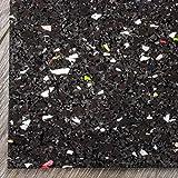 Antivibrationsmatte/Antirutschmatte für Waschmaschinen, Trockner usw. Qualität Made-in-Germany - 60x60cm - verschiedene Stärken (10mm)