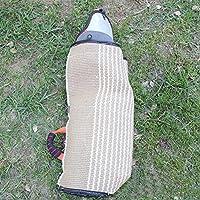 Myyxt Protège-morsures Ajouter la doublure de vachette Manchons de protection Fait de Chanvre de coton