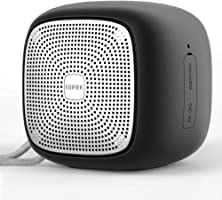 Bluetooth Speakers,Edifier MP200, Super Portable Wirelss Speaker Waterproof IP54 Power Bass Dual Stereo HD Sound with 12-Hour Playtime,work with Apple Android system so on, Black