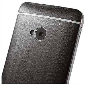 dbrand texturé avant et arrière pour HTC One–Noir Titane