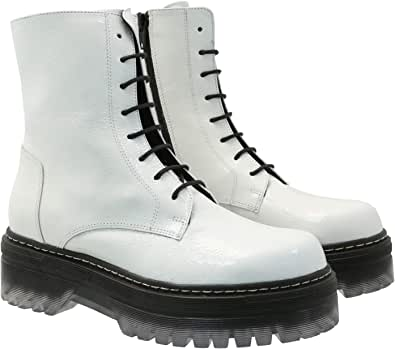 Tosca Blu Combat Boots Genna