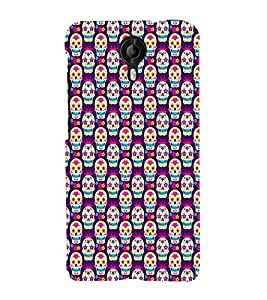 ifasho Designer Phone Back Case Cover Micromax CanvasNitro3E455 ( Heart Shape Pattern and Funky Design )