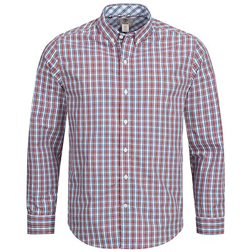 Timberland lane river –camicia da uomo, vestibilità attillata, a quadri, 7007j-479, 7007j-646, l