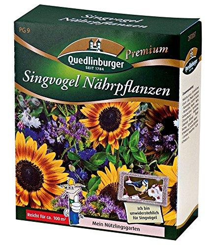 Blumenmischung Singvogel Nährpflanzen 100g für 100qm