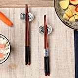 5 Paar Essstäbchen Japanische Natur Chopsticks aus umweltfreundlichem hölzernen in edler Schatulle Geschenkbox