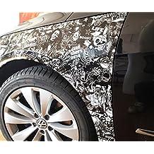 Stickerbomb - Adhesivo para coche, 30x 200cm