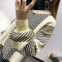 DEED Frauen - Retro Port Wind Pullover, Frauen Herbst, Lose College-Stil, Tops, Kleine Frische, Pullover, Mäntel