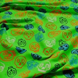Stoff Kinderstoff Baumwolle Lycra Single Jersey neongrün