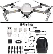 DJI Mavic Pro Platinum Fly More Combo - Dron Quadricóptero, Nivel de Ruido 4 dB, Duración de Batería en Vuelo 30 Minutos, Rad