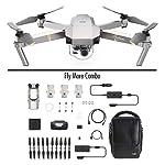 DJI Mavic Pro Platinum Fly More Combo - Dron Quadricóptero, Nivel de Ruido 4 dB, Duración de Batería en Vuelo 30 Minutos...