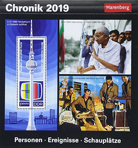 Chronik - Kalender 2019: Personen, Ereignisse, Schauplätze