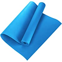 ARNV Yoga and Exercise Mat with Carrying Strap, 8mm