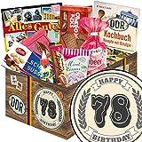 Geschenk Idee 78. für Ostalgiker | Süße DDR Geschenk Box | Geschenk Box