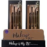 Markwins Essentials Makeup is My Art - Set de Brochas de Maquillaje de Ojos - Paleta con una Selección de Brochas Profesional