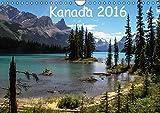 Kanada 2016 (Wandkalender 2016 DIN A4 quer): Berge und Seen im Westen Kanadas (Monatskalender, 14 Seiten) (Calvendo Natur)