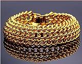 Magic Stones 18CT Gold and Rodhium Coate...
