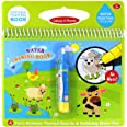 Jenilily Magic Water Drawing Book Coloring Book 7.48in X 7.87in Doodle with Magic Pen Painting Board for Children Education D