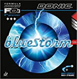 Donic BLUESTORM Z3, 2.1mm Red and Black, Table Tennis Rubbers (2Pieces)