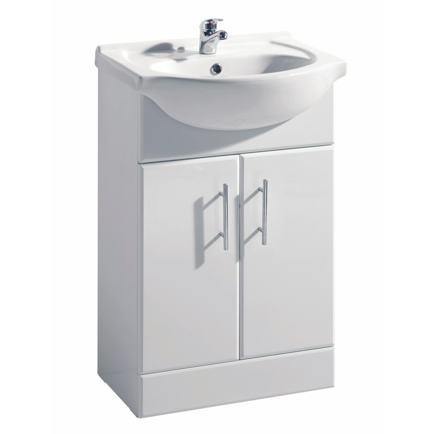 veebath linx bathroom white gloss vanity unit basin sink 450mm storage unit cabinet ceramic furniture amazoncouk kitchen u0026 home
