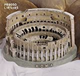Souvenir Italia Roma COLOSSEO 3D IN RESINA L.19,5 CM H. 9,5 CM