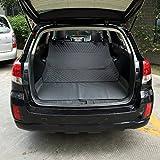 Dog Car Trunk Lid Pet Cargo Padding Non-Slip Bumper Flip Cover Cargo Seat Cover Car Waterproof,Gray