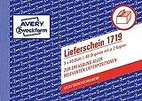 Avery Zweckform 1719 Lieferschein speziell für Österreich (A6 quer, 3x40 Blatt) weiß/gelb/rosa