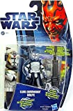 Clone Commander Wolffe in Phase II Armor CW17 Star Wars The Clone Wars Hasbro